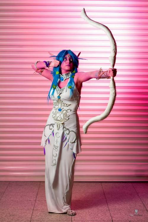 Tyrande Whisperwind cosplay by Rathalely Cosplay Photography by The WinnTeam