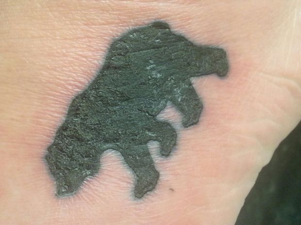How to care for a new tattoo pugs and dinosaurs pugs for Badly infected tattoo