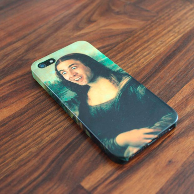 nic cage phone case