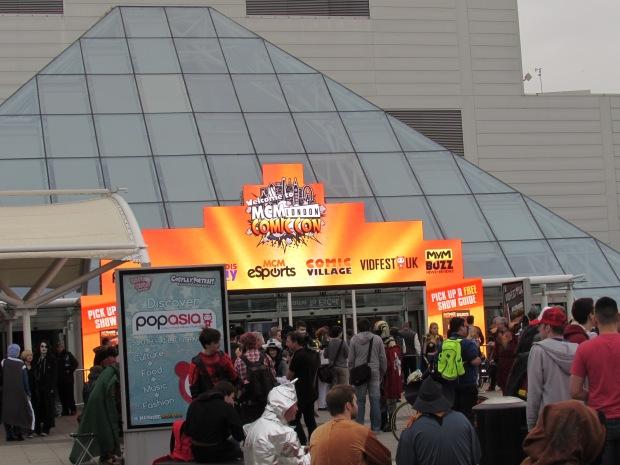 Courtyard Excel London Comic Con