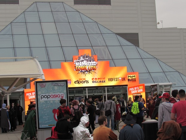 Courtyard Excel London Comic Con