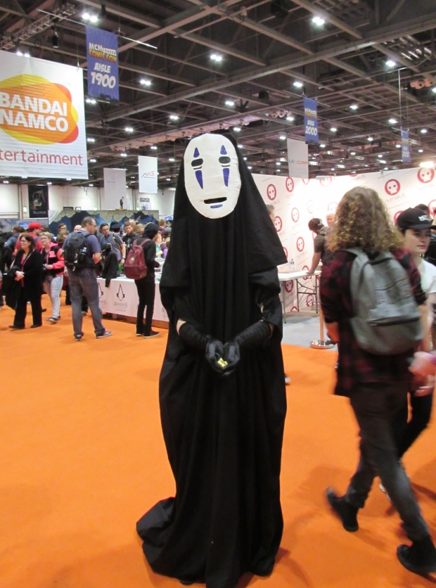 No face cosplay