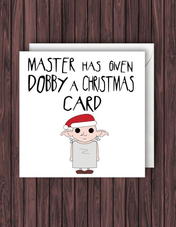 dobby christmas card