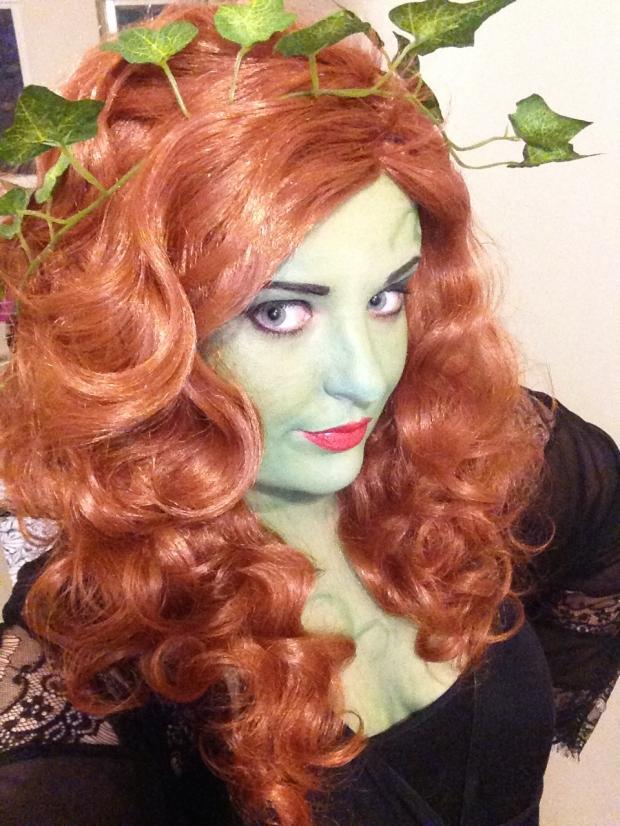 poison ivy make up