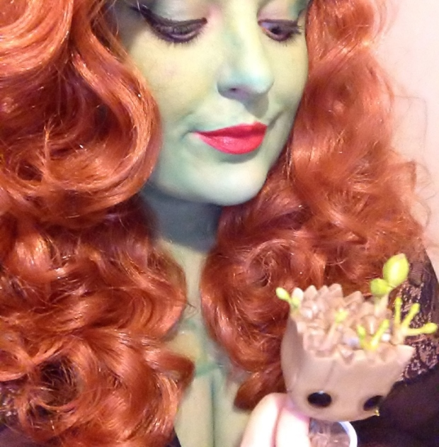 poison ivy and groot