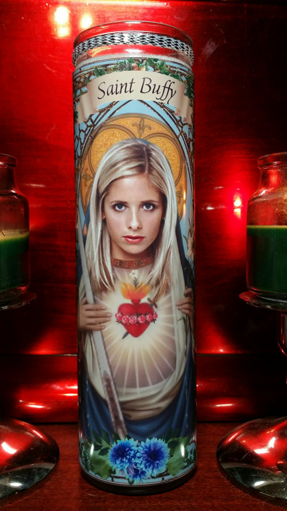 buffy prayer candle