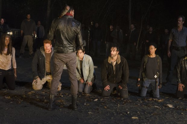 negan group the walking dead